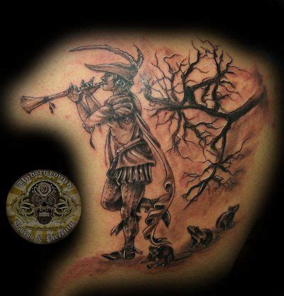 piper tattoo pied piper of hamelin by 2face deviantart on
