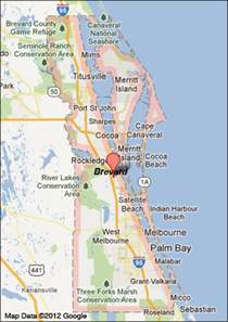 Map Of Brevard County Florida by Brevard County Florida Map