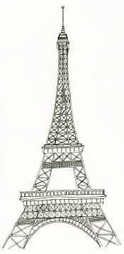 eiffel tower template free best photos of eiffel tower printable black eiffel tower