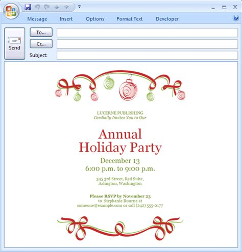 download free printable invitations of e mail message