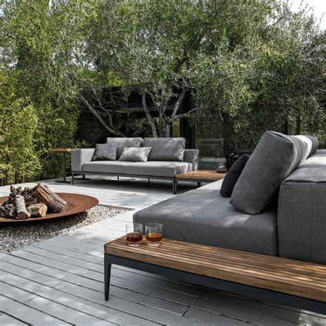sofa gestalten grid centre unit garden sofas from gloster furniture