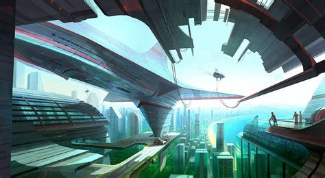 real futuristic dsng s sci fi megaverse sci fi buildings and futuristic