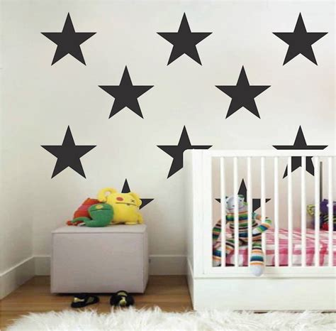 large bedroom wall stickers large bedroom star stickers big star wall vinyl decal