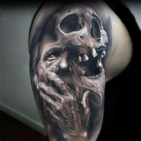 tattoo 3d caveira tatuagem 3d tudo sobre esse estilo 100 inspira 231 245 es