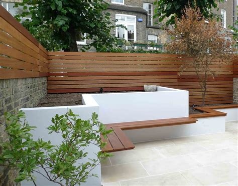 design modern garden ideas uk slim courtyard house
