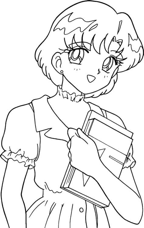 Sailor Mercury Coloring Pages Sketch Coloring Page Sailor Mercury Coloring Pages