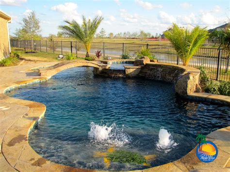 designer pools custom concrete pools houston tx swimming pool