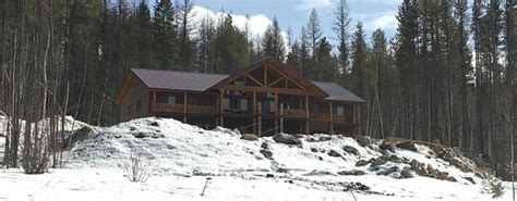 Cabins Glacier National Park by Weddings Glacier Raft Company