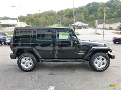 Jeep Wrangler Black 2013 Black 2013 Jeep Wrangler Unlimited 4x4 Exterior
