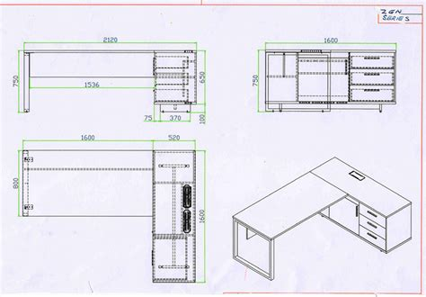 Office Desks Dimensions Pictures Yvotube Com Office Desk Sizes