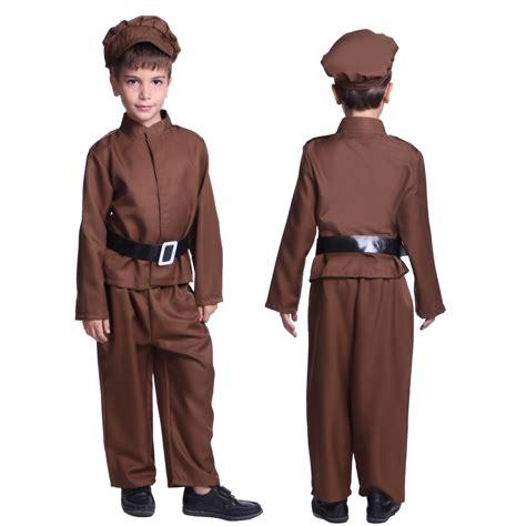 world war 2 outfits children s kids world war ii evacuee girl boys fancy dress