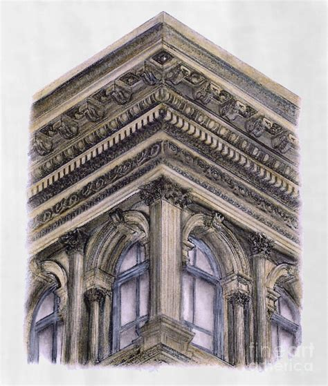 haughwout building new york city drawing by gerald blaikie