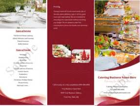 catering brochure templates catering brochure templates sles like success