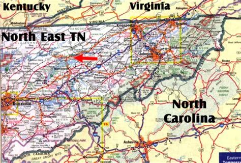 map of east tennessee map of east tn pictures to pin on pinsdaddy