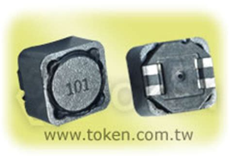 surface mount resistor inductance smd large current power inductors wirewound inductor tpsrh124b token components