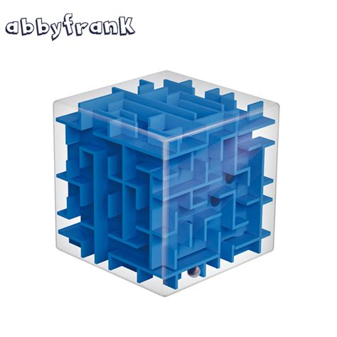 Promo Cubic Puzzle 3d Series Giraffe aliexpress buy abbyfrank maze magic cube puzzle 3d mini speed cube labyrinth rolling