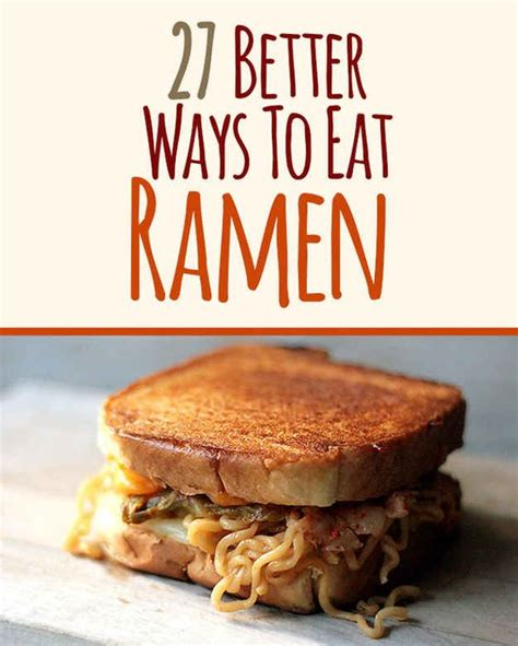 better ramen 27 better ways to eat ramen kimchi ramen ramen and