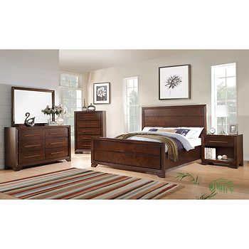 costco ca bedroom furniture catania 5 piece queen bedroom set