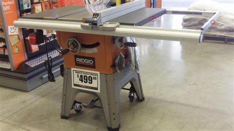 Ridgid Table Saw R4512 by Ridgid R4512 Modification Idea Power Tool City