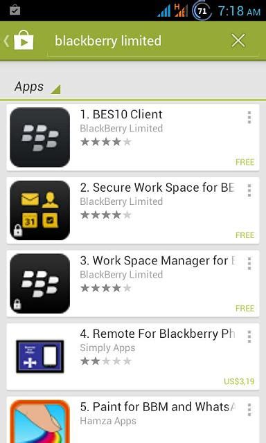 Play Store Disappeared Why Blackberry Has Disappeared From Play Store