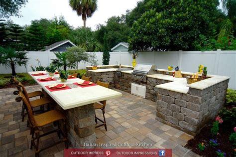 Backyard Crashers by Yard Crashers Fischer Italian Inspired Outdoor Kitchen
