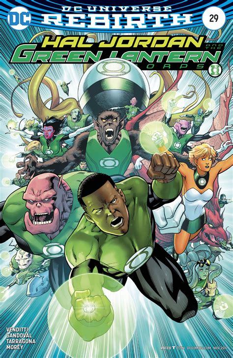 hal and the green lantern corps vol 4 fracture rebirth jordi tarragona fresh comics