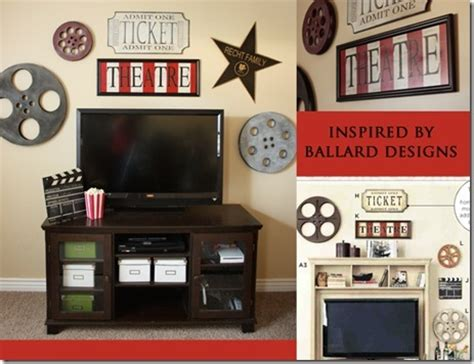 movie theater themed home decor film reels a touch of vintage perfect for above the