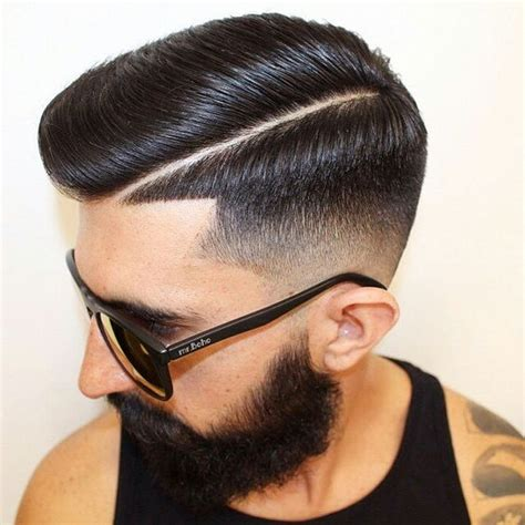 comb over hard part 30 awesome comb over fade haircuts