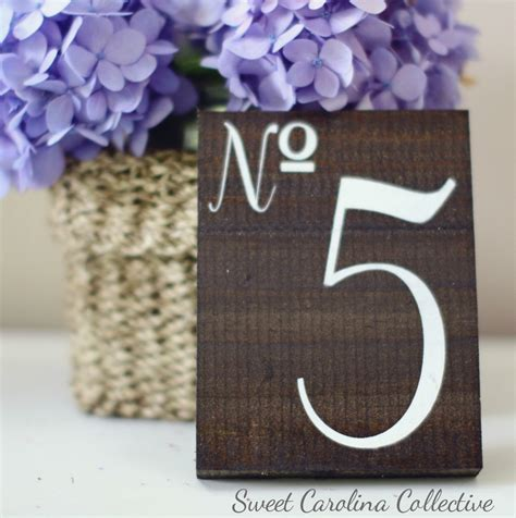 Wooden Table Numbers Wedding by Wedding Table Numbers Wooden Table Numbers By