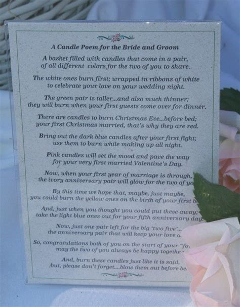 Bridal Shower Poem by 1000 Images About Diy Wedding Candle Basket Ideas On