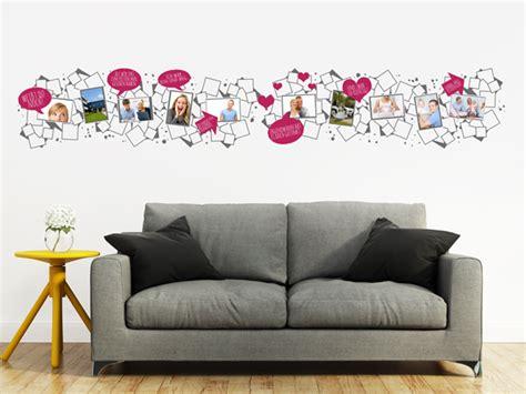 Fotos An Wand Anbringen Ohne Rahmen 6089 by Wandtattoo Bilderrahmen Story An Der Wand