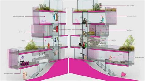 Field Design For Real Barbies by Luxe Modern Dollhouses Architect Dreamhouse