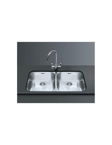 smeg kitchen sinks smeg um4545 undermount large double kitchen sink
