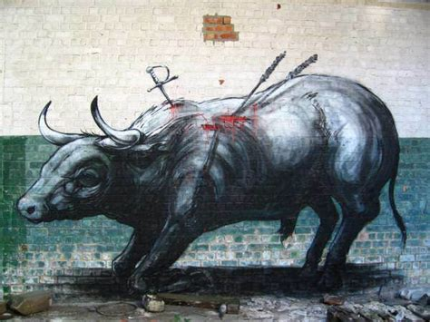 Wildlife Wall Mural roa s giant animal graffiti turns cities into zoos 171 paint