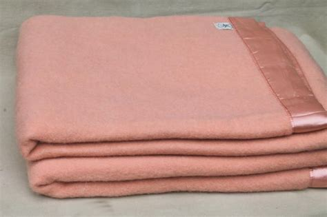 warm blankets for bed lot vintage wool bed blankets in shades of pink warm all wool blankets for winter