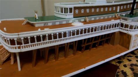 model steam boat youtube amazing mississippi steamboat model robt e lee youtube