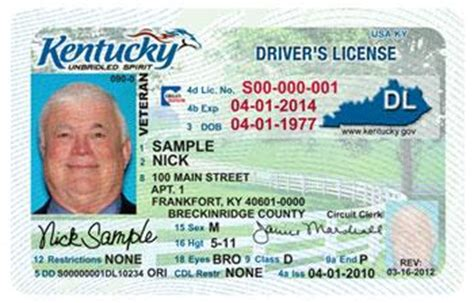 i lost my ohio boating license kentucky works to make driver s licenses compliant with