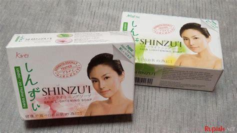 Sabun Shinzui harga lebih murah sabun shinzui batangan diklaim wangi dan bisa memutihkan kulit kurs rupiah