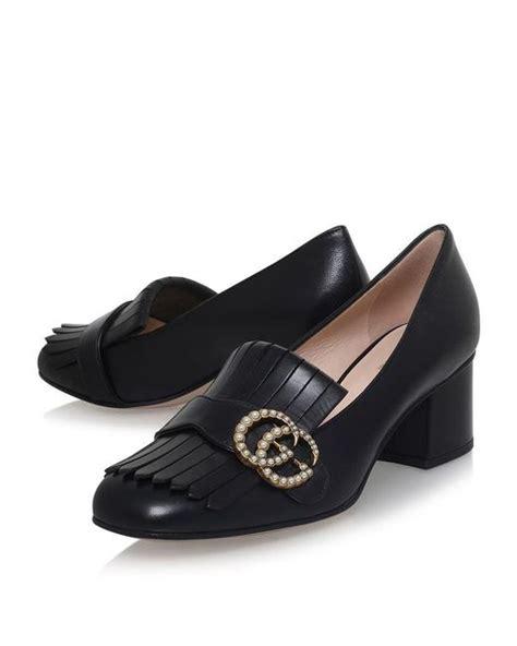 Gucci Marmont Pearl 678 Seprem gucci marmont pearl pumps 55 in black save 31 lyst