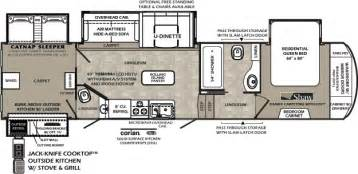 Bunkhouse Fifth Wheel Floor Plans by Fifth Wheel Bunkhouse Floor Plans Images