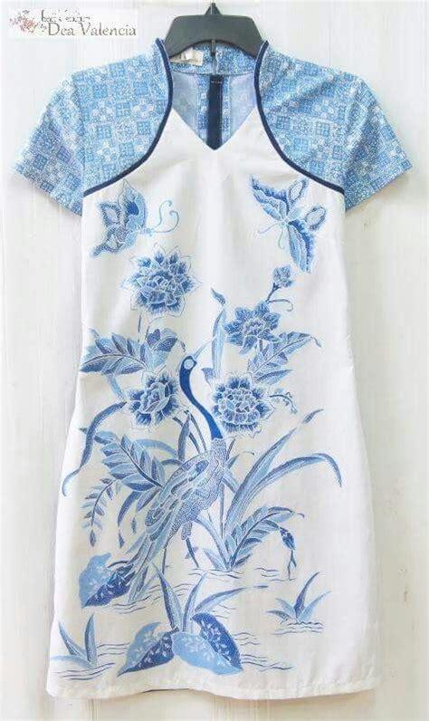 Blouse Batik Cap Encim Pastel 1000 ide tentang modern batik dress di kebaya