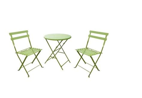 Metal Patio Table And Chairs Set 10 Easy Pieces Outdoor Bistro Table And Chair Sets Gardenista