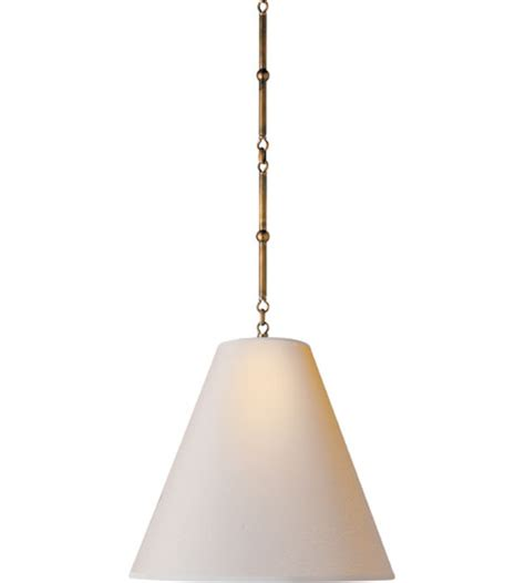 medium goodman hanging l visual comfort thomas o brien goodman medium hanging light
