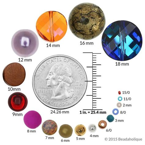 size 8 in mm 1000 images about beading info on