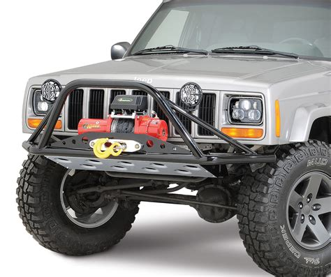 Jeep Xj Bumpers S Offroad Pre Runner Winch Bumper For 84 01 Jeep