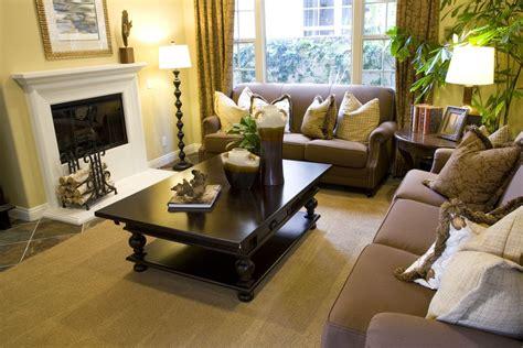 beautiful formal living room ideas  brown