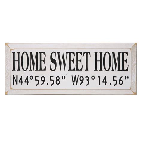 home sweet home sign at signals hl4192