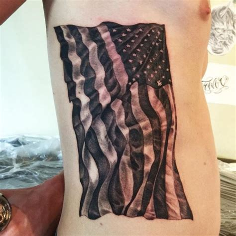 65 independent patriotic american flag tattoos i love usa