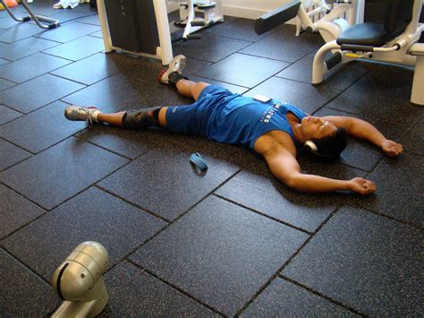 workout flooring how to recover from strenuous exercise business insider