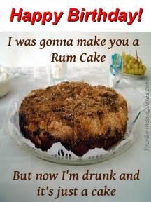 Birthday wishes quotes funny rum cake yourbirthdayquotes com